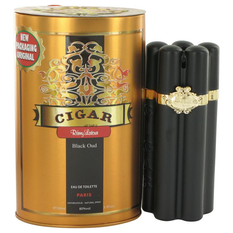 Cigar Black Oud by Remy Latour Eau De Toilette Spray 3.3 oz Men