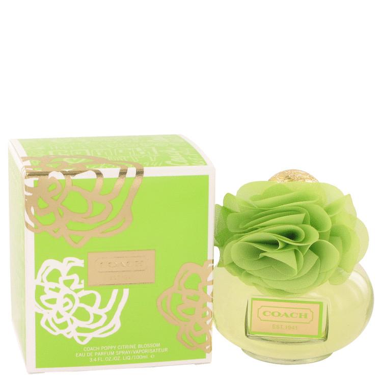 Coach Poppy Citrine Blossom by Coach Eau De Parfum Spray 3.4 oz Women