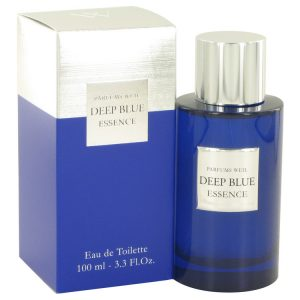 Deep Blue Essence by Weil Eau De Toilette Spray 3.3 oz Men