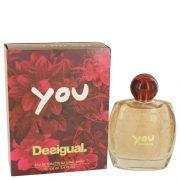 Desigual You by Desigual Eau De Toilette Spray 3.4 oz Women