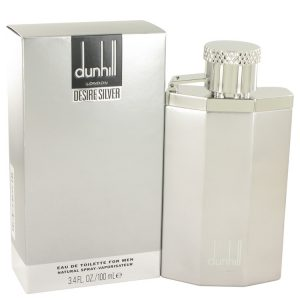 Desire Silver London by Alfred Dunhill Eau De Toilette Spray 3.4 oz Men