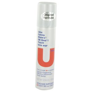 Designer Imposters U You by Parfums De Coeur Deodorant Body Spray (Unisex) 2.5 oz Women