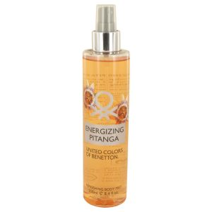 Energizing Pitanga by Benetton Body Mist 8.4 oz Women