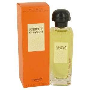 Equipage Geranium by Hermes Eau De Toilette Spray 3.3 oz Women