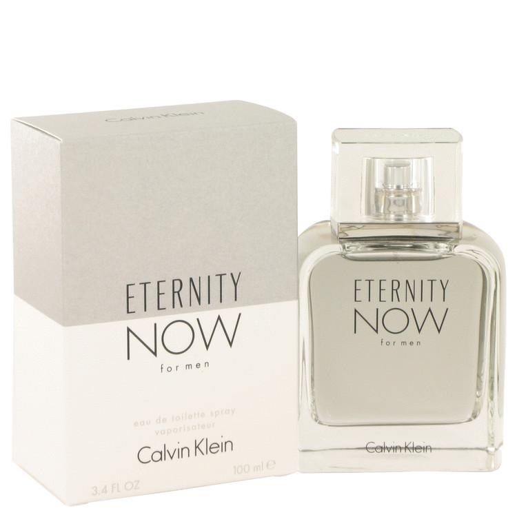 Eternity Now by Calvin Klein Eau De Toilette Spray 3.4 oz Men