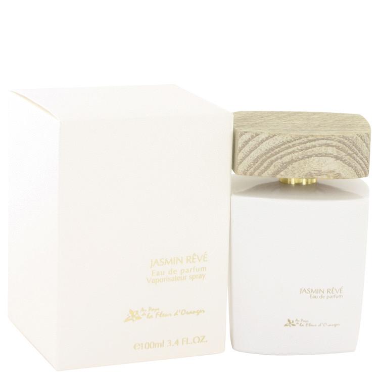 Jasmin Reve by Au Pays De La Fleur d'Oranger Eau De Parfum Spray 3.4 oz Women