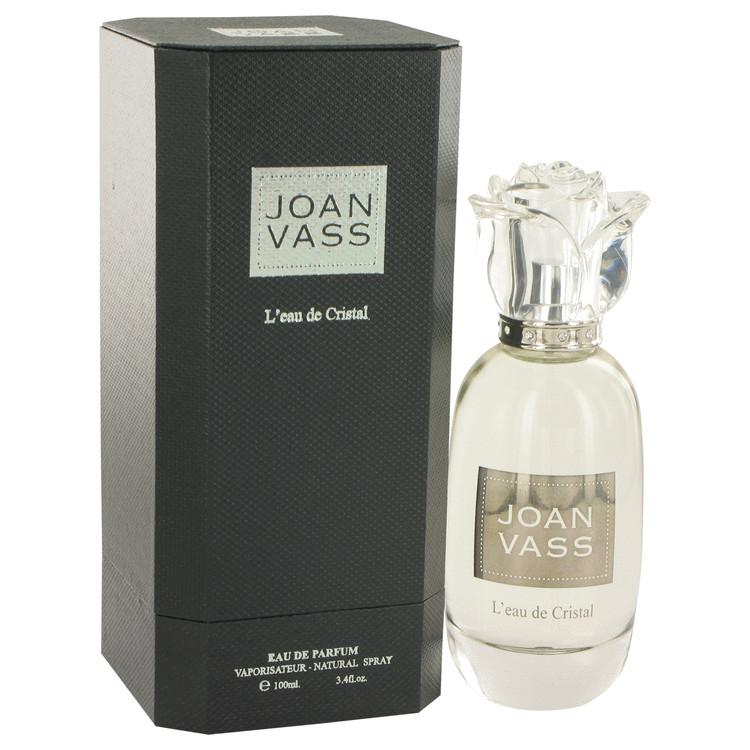 L'eau De Cristal by Joan Vass Eau De Parfum Spray 3.4 oz Women