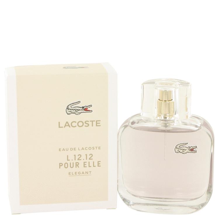 Lacoste Eau De Lacoste L.12.12 Elegant by Lacoste Eau De Toilette Spray 3 oz Women