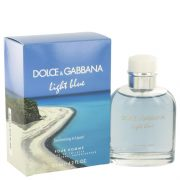 Light Blue Swimming in Lipari by Dolce & Gabbana Eau De Toilette Spray 4.2 oz Men