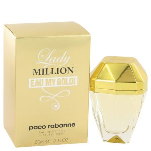 Lady Million Eau My Gold by Paco Rabanne Eau De Toilette Spray 1.7 oz Women
