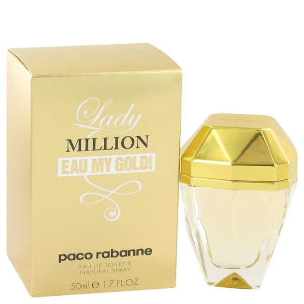 Lady Million Eau My Gold by Paco Rabanne