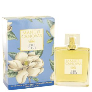 L'ile Bleue by Manuel Canovas Eau De Parfum Spray 3.4 oz Women