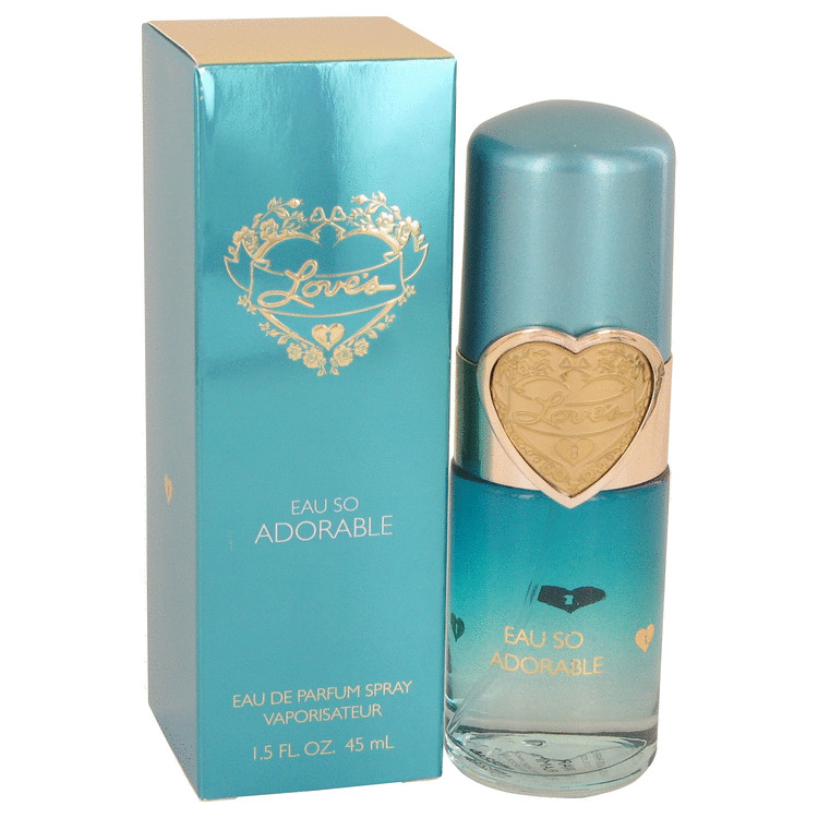 Love's Eau So Adorable by Dana Eau De Parfum Spray 1.5 oz Women