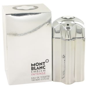 Montblanc Emblem Intense by Mont Blanc Eau De Toilette Spray 3.4 oz Men
