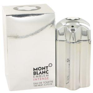 Montblanc Emblem Intense by Mont Blanc Eau De Toilette Spray 3.4 oz Men