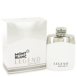 Montblanc Legend Spirit by Mont Blanc Eau De Toilette Spray 3.3 oz Men