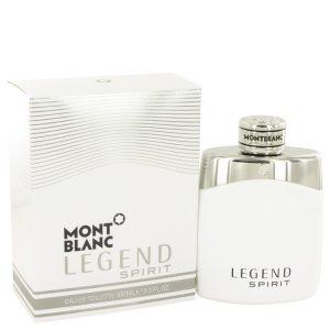 Montblanc Legend Spirit by Mont Blanc Eau De Toilette Spray 3.3 oz Men