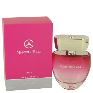 Mercedes Benz Rose by Mercedes Benz Eau De Toilette Spray 2 oz Women