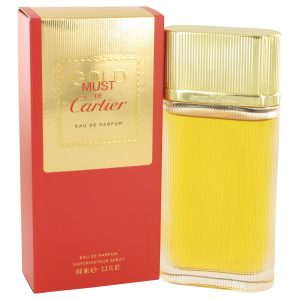 Must De Cartier Gold by Cartier Eau De Parfum Spray 3.3 oz Women