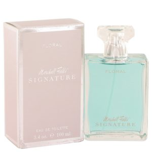 Marshall Fields Signature Floral by Marshall Fields Eau De Toilette Spray (Scratched box) 3.4 oz Women
