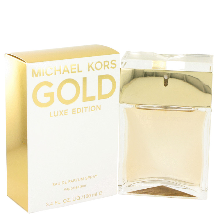 Michael Kors Gold Luxe by Michael Kors Eau De Parfum Spray 3.4 oz Women
