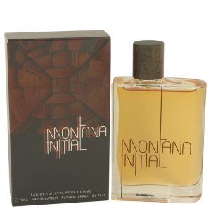 Montana Initial by Montana Eau De Toilette Spray 2.5 oz Men