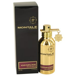 Montale Aoud Purple Rose by Montale Eau De Parfum Spray (Unisex) 1.7 oz Women