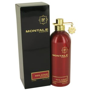 Montale Red Aoud by Montale Eau De Parfum Spray 3.4 oz Women