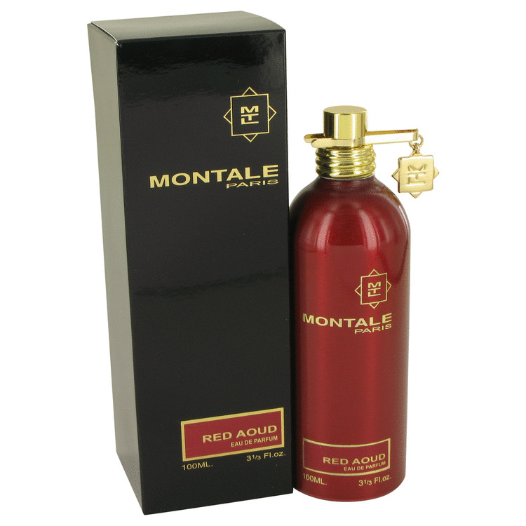 Montale Red Aoud by Montale Eau De Parfum Spray 3.4 oz Women