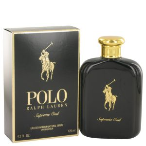 Polo Supreme Oud by Ralph Lauren Eau De Parfum Spray 4.2 oz Men