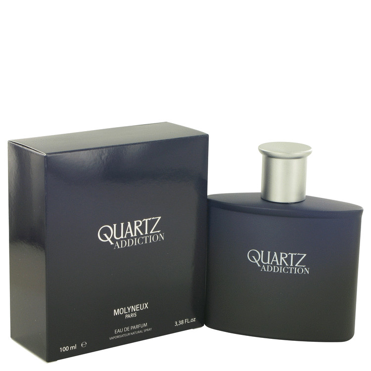 Quartz Addiction by Molyneux Eau De Parfum Spray 3.4 oz Men