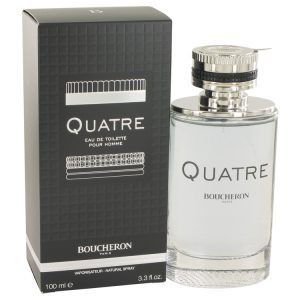Quatre by Boucheron Eau De Toilette Spray 3.4 oz Men