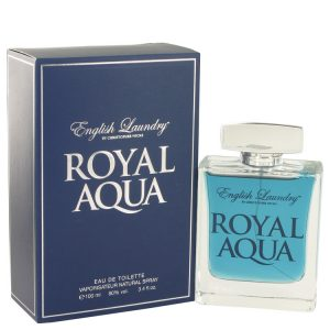 Royal Aqua by English Laundry Eau De Toilette Spray 3.4 oz Men