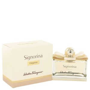 Signorina Eleganza by Salvatore Ferragamo Eau De Parfum Spray 3.4 oz Women