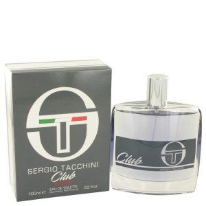 Sergio Tacchini Club Intense by Sergio Tacchini Eau De Toilette Spay 3.3 oz Men