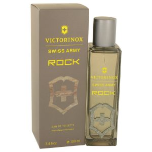 Swiss Army Rock by Swiss Army Eau De Toilette Spray 3.4 oz Men