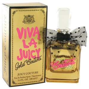 Viva La Juicy Gold Couture by Juicy Couture Eau De Parfum Spray 3.4 oz Women