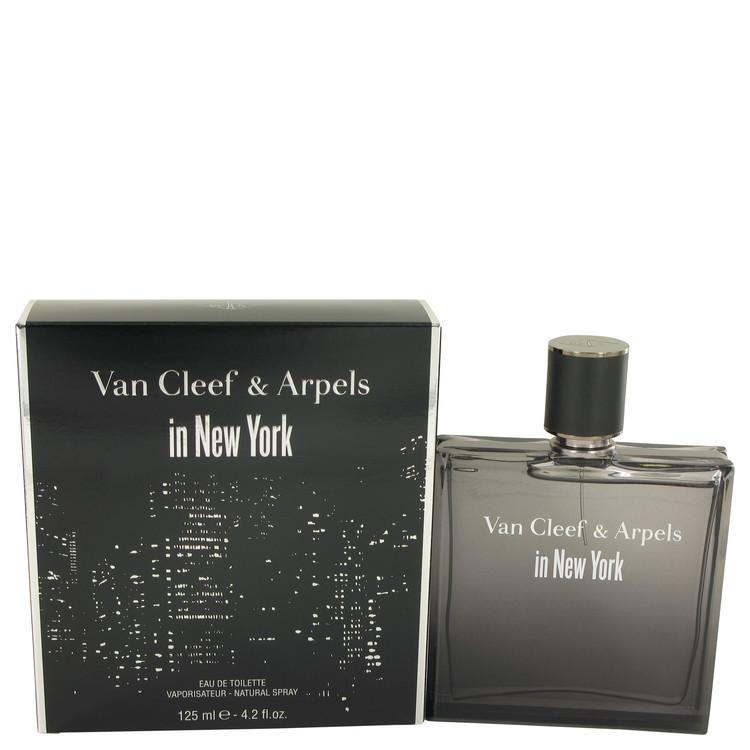 Van Cleef in New York by Van Cleef & Arpels Eau De Toilette Spray 4.2 oz Men