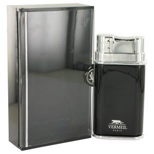 Vermeil Black by Vermeil Eau De Toilette Spray 3.4 oz Men