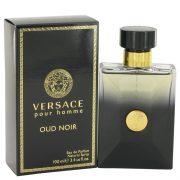 Versace Pour Homme Oud Noir by Versace Eau De Parfum Spray 3.4 oz Men