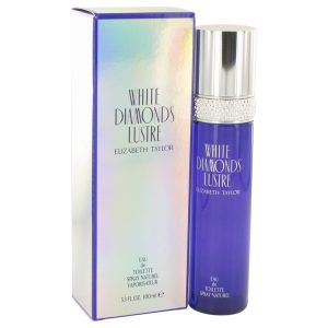 White Diamonds Lustre by Elizabeth Taylor Eau De Toilette Spray 3.3 oz Women