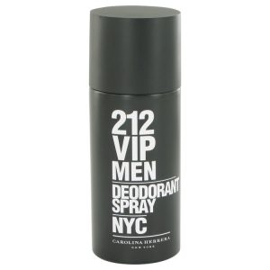 212 Vip by Carolina Herrera Deodorant Spray 5 oz Men