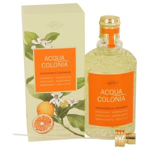 4711 Acqua Colonia Mandarine & Cardamom by Maurer & Wirtz Eau De Cologne Spray (Unisex) 5.7 oz Women