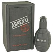 Arsenal Black by Gilles Cantuel Eau De Parfum Spray 3.4 oz Men