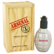 ARSENAL RED by Gilles Cantuel Eau De Parfum Spray 3.4 oz Men