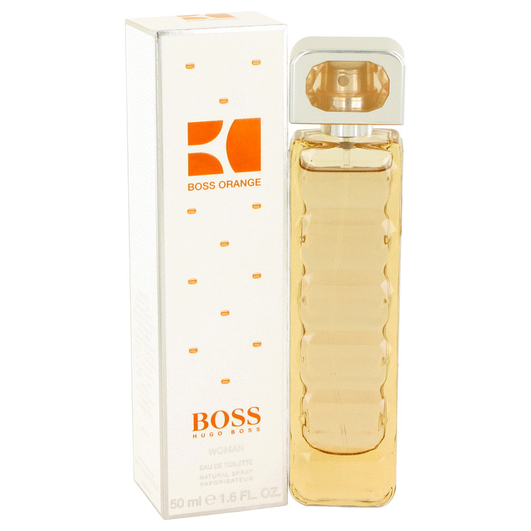 Boss Orange by Hugo Boss Eau De Toilette Spray 1.7 oz Women