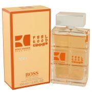 Boss Orange Feel Good Summer by Hugo Boss Eau De Toilette Spray 3.3 oz Men