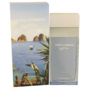 Light Blue Love in Capri by Dolce & Gabbana Eau De Toilette Spray 3.4 oz Women