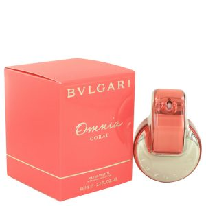 Omnia Coral by Bvlgari Eau De Toilette Spray 2.2 oz Women