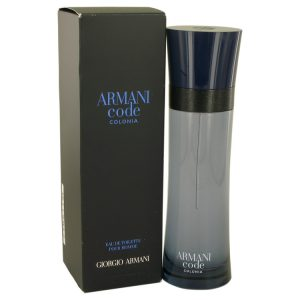 Armani Code Colonia by Giorgio Armani Eau De Toilette Spray 4.3 oz Men